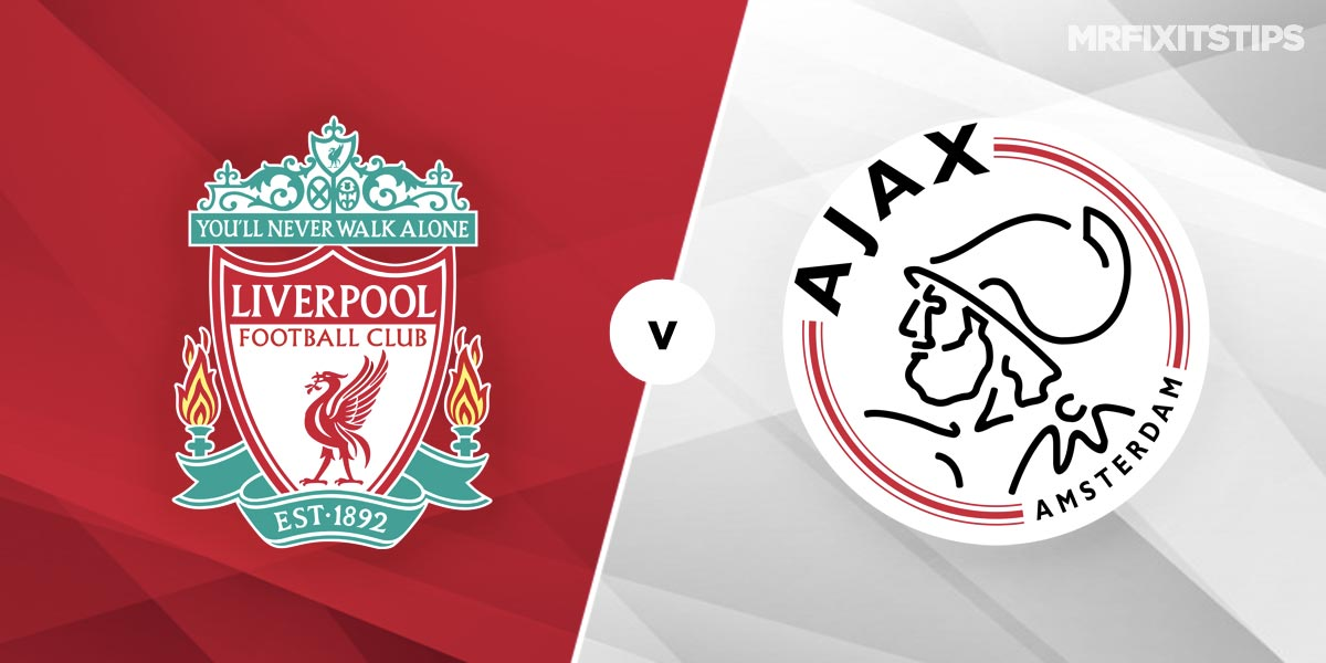 Liverpool vs Ajax Prediction and Betting Tips