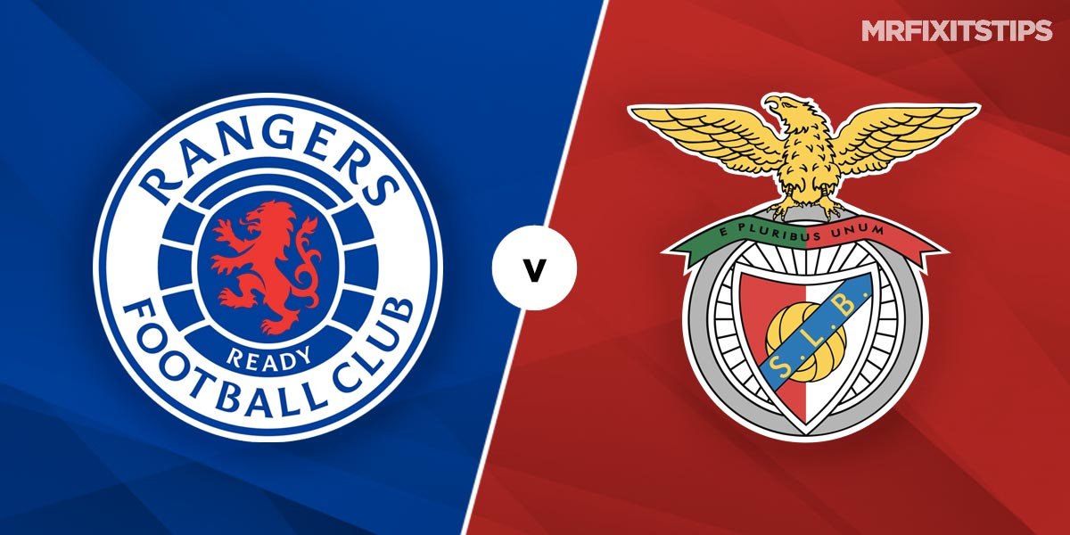 Rangers vs Benfica Prediction and Betting Tips