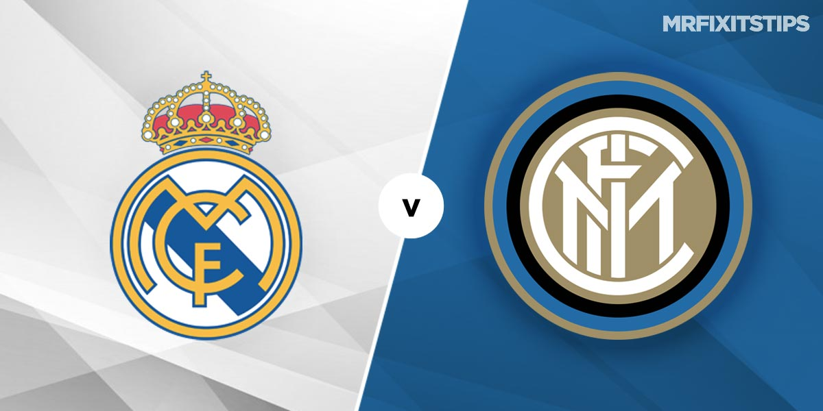Real Madrid vs Inter Milan Prediction and Betting Tips