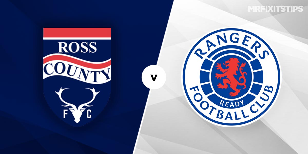 Ross County vs Rangers Prediction and Betting Tips