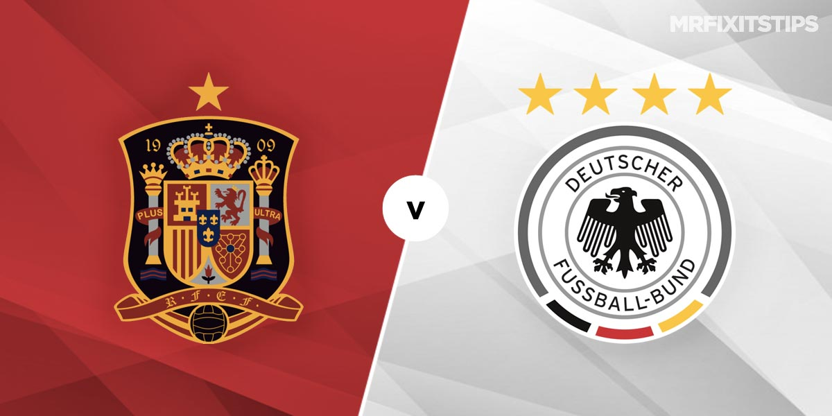Spain vs Germany Prediction and Betting Tips