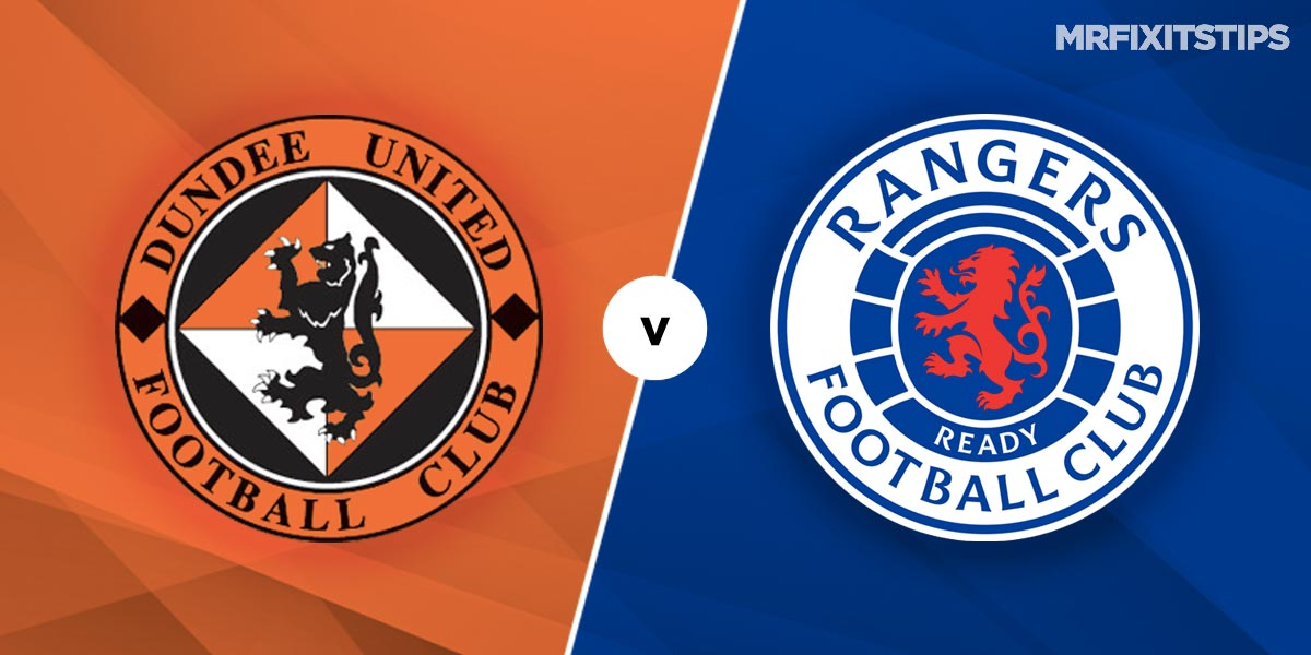 Dundee United vs Rangers Prediction and Betting Tips