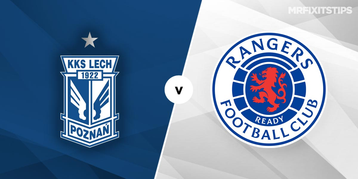 Lech Poznan vs Rangers Prediction and Betting Tips