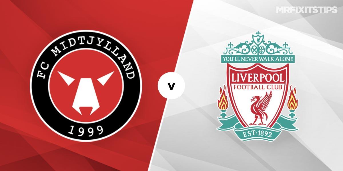 FC Midtjylland  vs Liverpool Prediction and Betting Tips