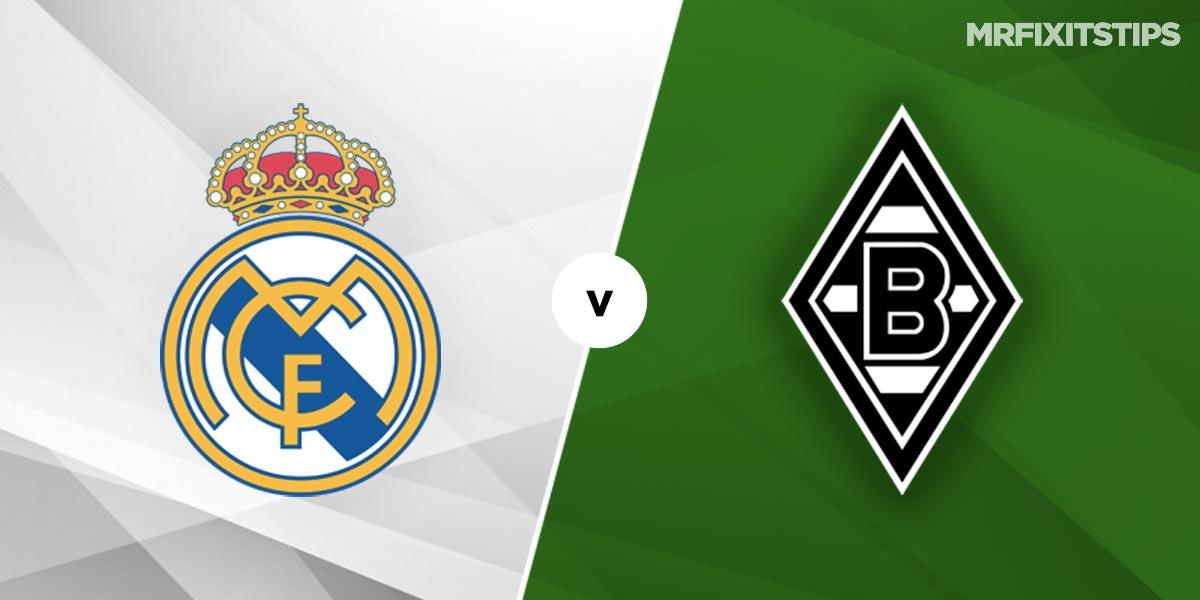 Real Madrid vs Borussia Monchengladbach Prediction and Betting Tips