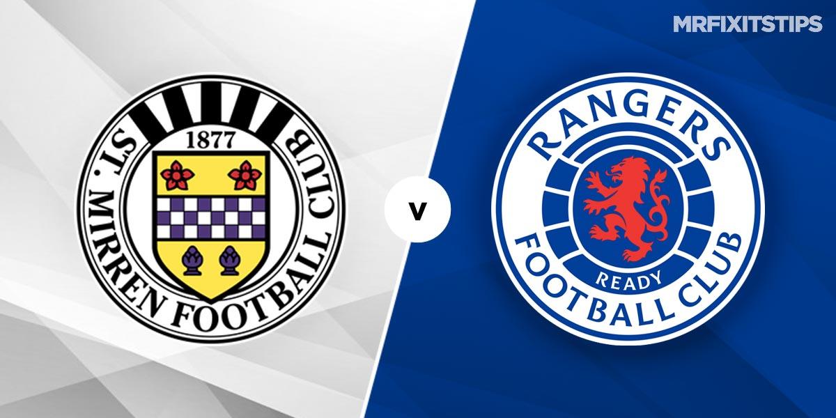 St Mirren vs Rangers Prediction and Betting Tips