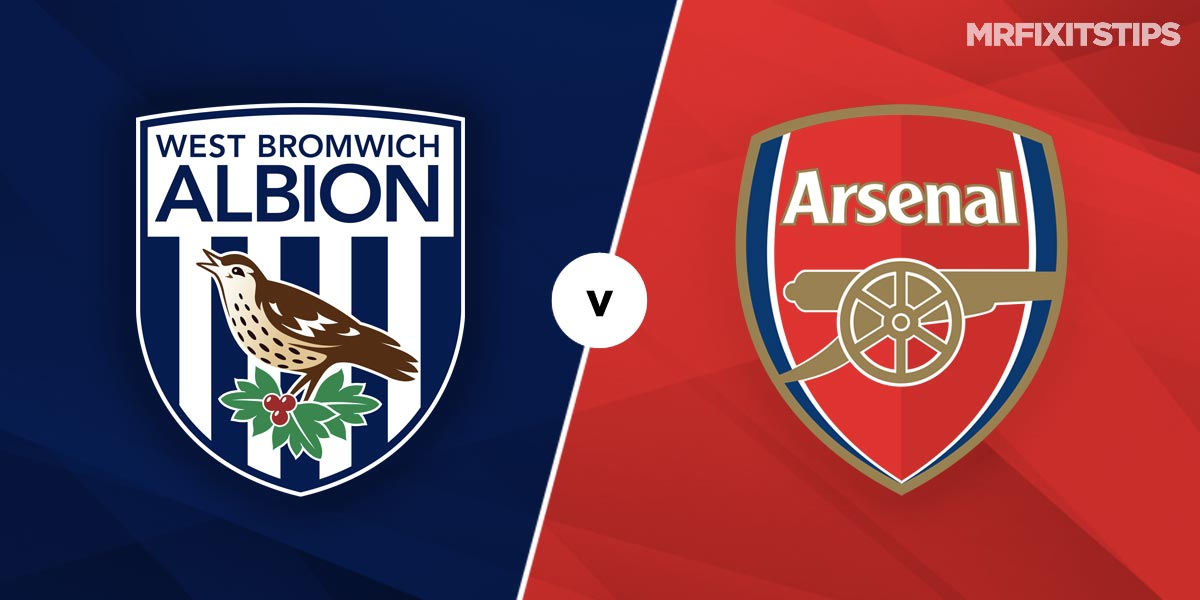 West Brom vs Arsenal Prediction and Betting Tips