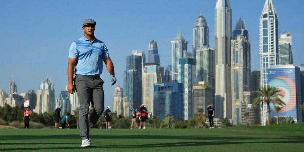 Sterne takes one-shot lead in Dubai round one