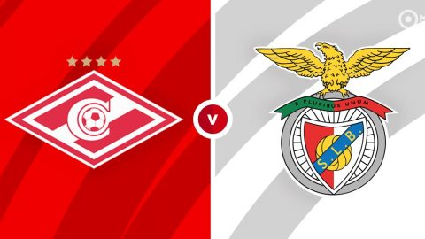 Spartak Moscow vs Benfica Prediction and Betting Tips
